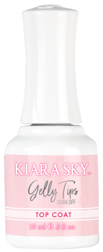 KIARA SKY GELLY TIP 15ML - TOP COAT